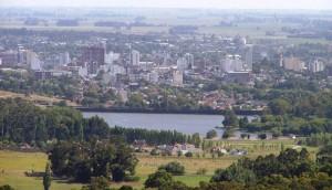Vista panorámica de la ciudad de Tandil.