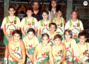 Union y Progreso Basquet premini