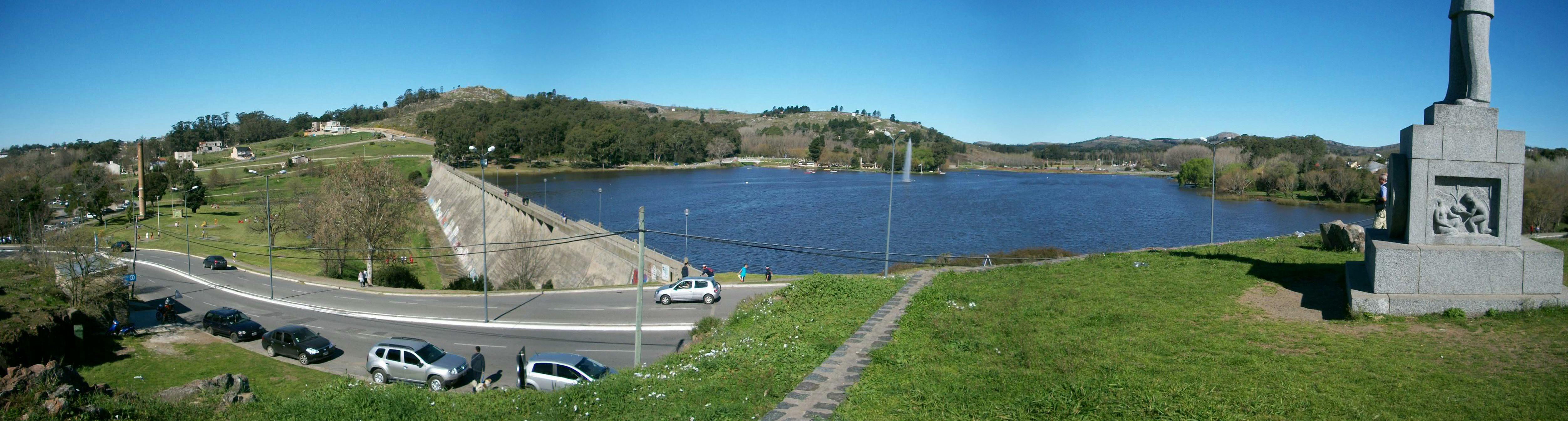 tandil panoramica lago del fuerte